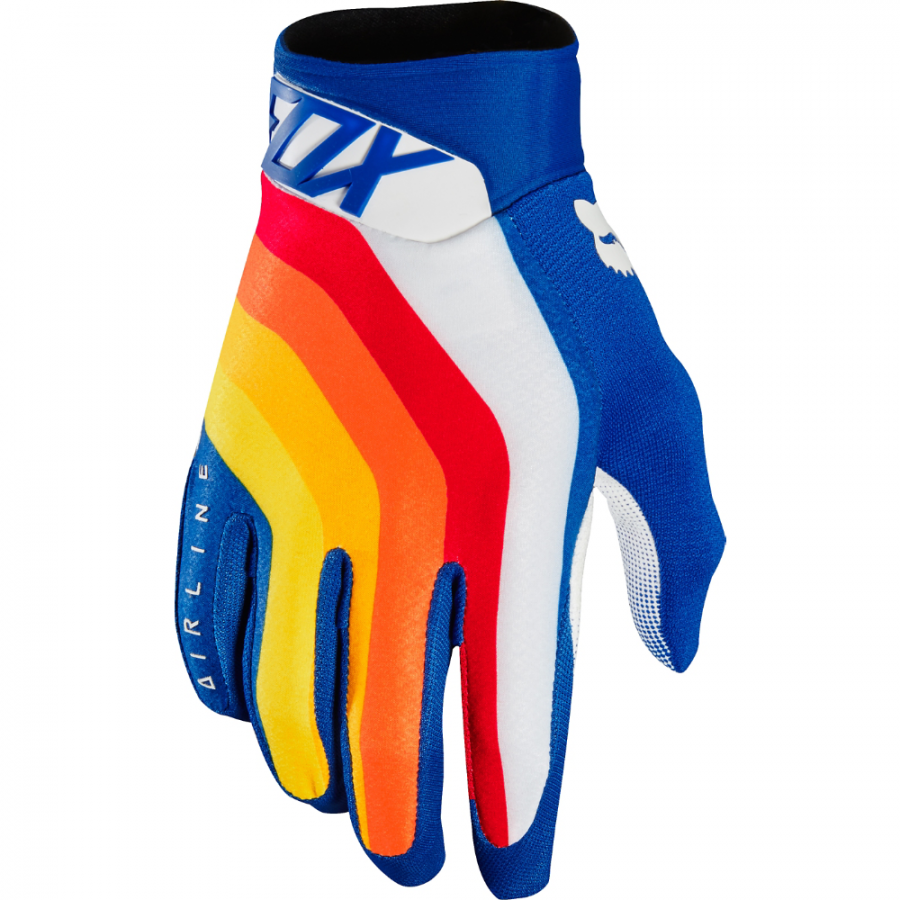 Перчатки Перчатки Fox Airline Draftr Glove Blue