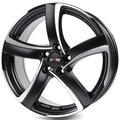 Диски Alutec Shark 6x15 4x98 ET38 ЦО58.1 цвет Racing Black Front Polished - фото 1