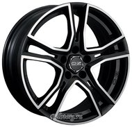 Диск OZ Racing Adrenalina 7.5x16/5x112 D75 ET35 Matt Black Diamond Cut - фото 1