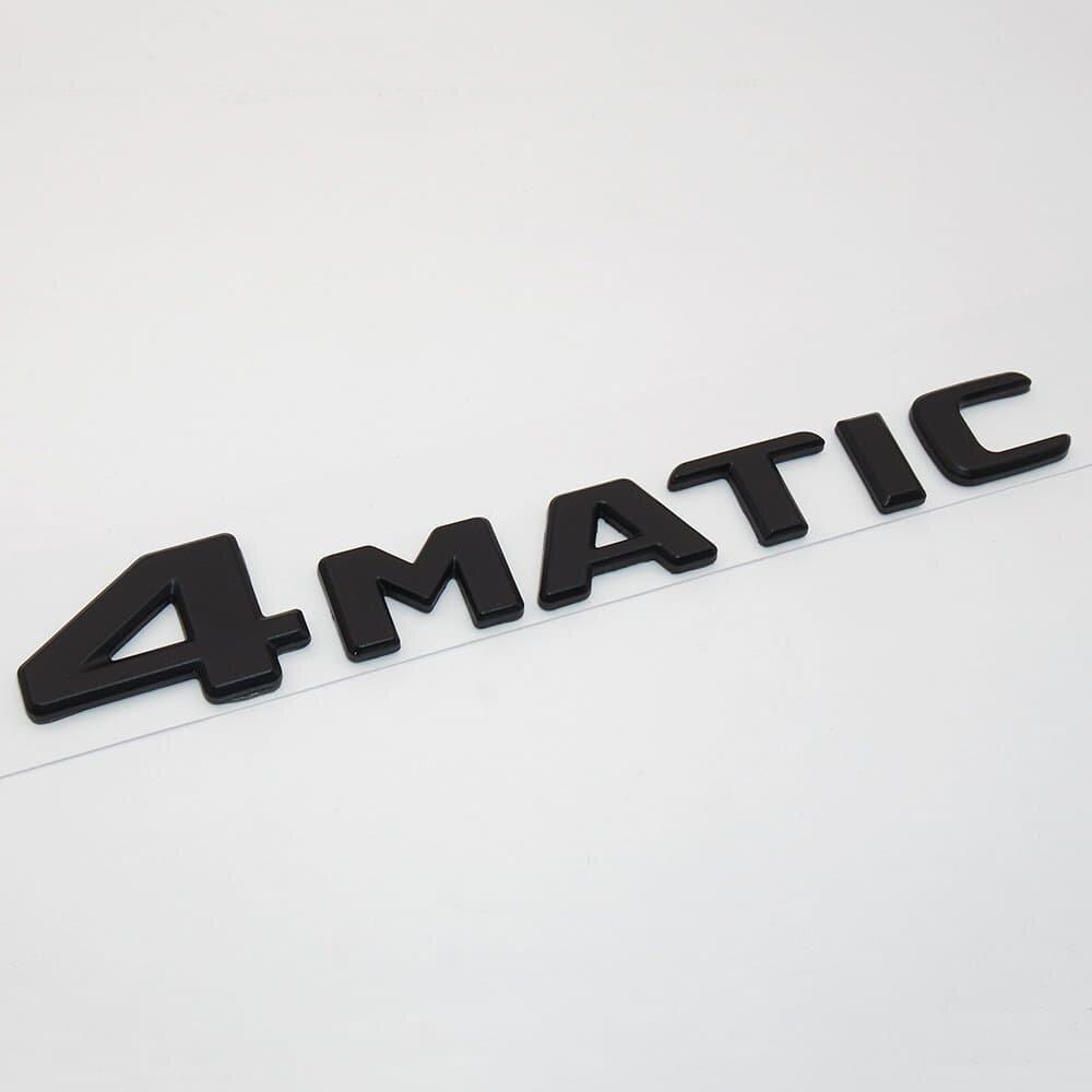 Шильдик Mercedes-Benz 4matic 2017+ черный мат