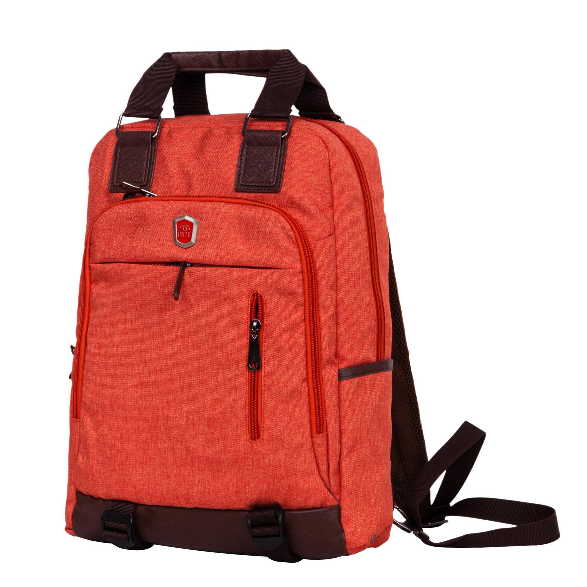 Городской рюкзак Polar 541-7 12 оранжевый