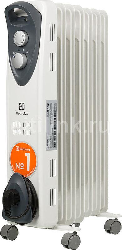 Масляный радиатор ELECTROLUX EOH/M-3157, 1500Вт, белый