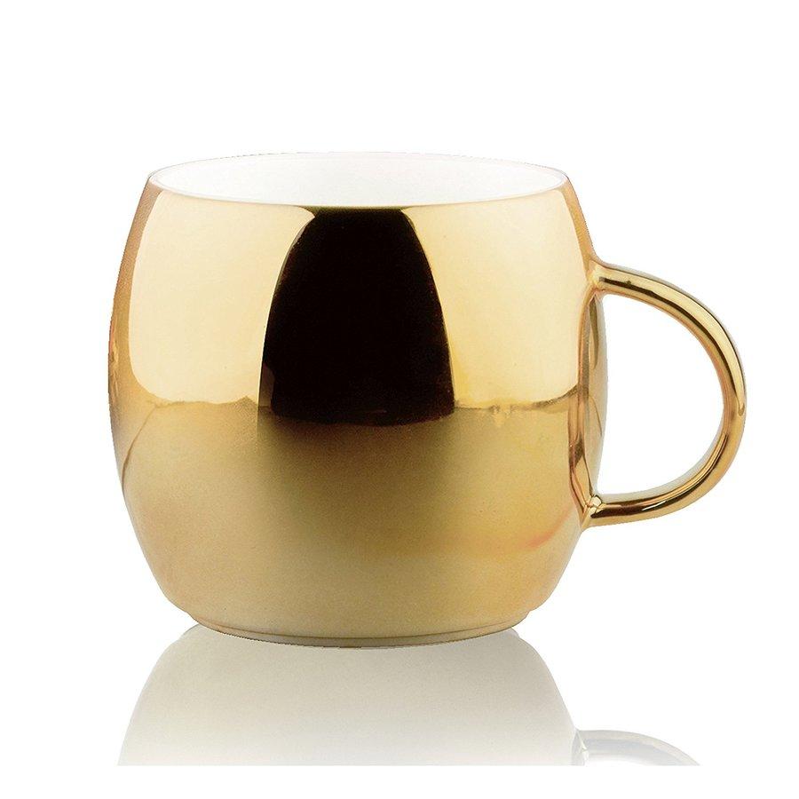 Кружка Asobu Sparkling mugs (0,38 литра) золотистая, Asobu (Асобу)