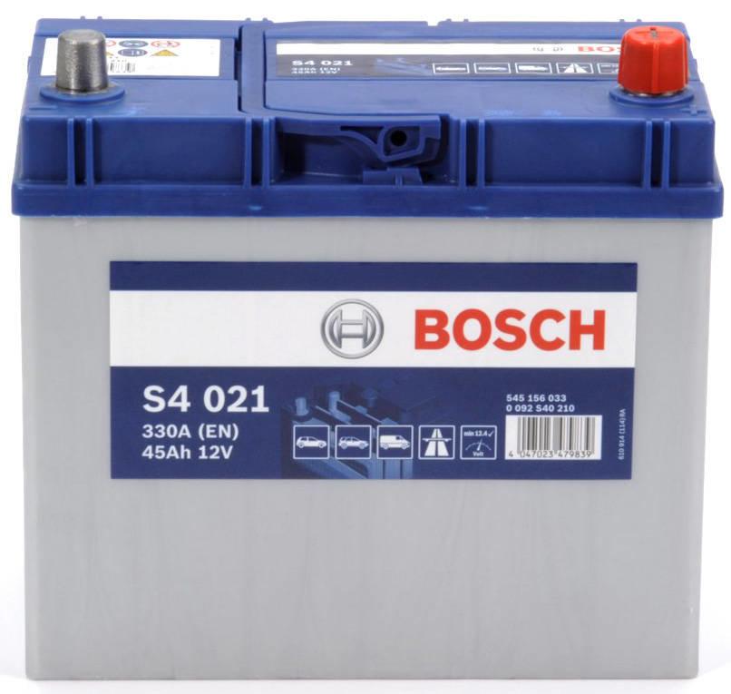 Аккумулятор автомобильный Bosch 45 A/H