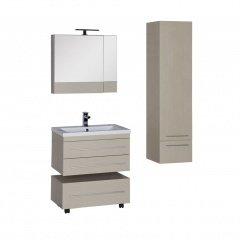 Комплект мебели Aquanet Нота 75 светлый дуб (камерино)
