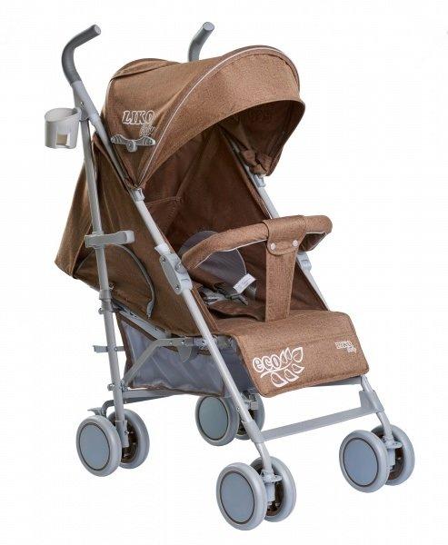 Коляска-трость Liko Baby BT109 City Style beige