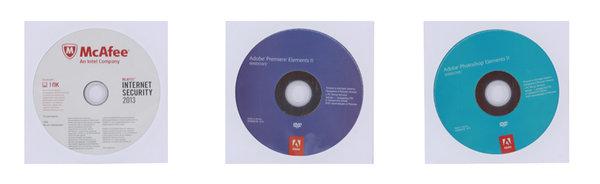 Программное обеспечение Software bundle:Photoshop Elements 11 Windows Russian,Premiere Elements 11 Windows Russian ,MCAFEE Internet Security 2013 1ПК