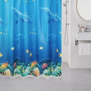 Штора для ванной Milardo Ocean Floor (520V180M11)