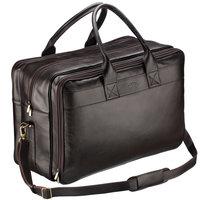 c31f5c74c58b Кожаная дорожная сумка с портпледом