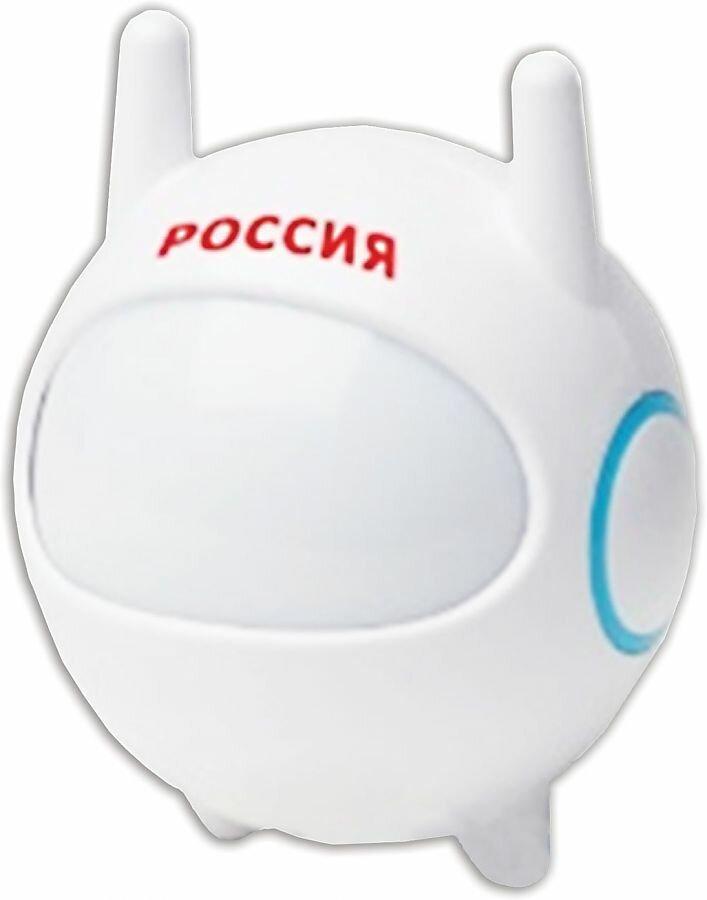 """Светильник-ночник. Эра NN-604 """"Космонавт"""", светодиодный, с сенсором света, детский, белый, (шк1856)"""