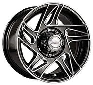 Racing Wheels H-417 8x16 5x139.7 ET 10 Dia 108.2 BK F/P - фото 1