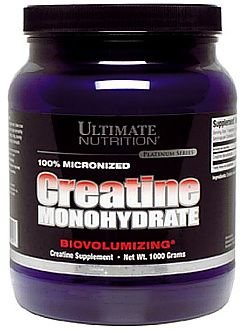Creatine Monohydrate (Ultimate Nutrition), 300 г