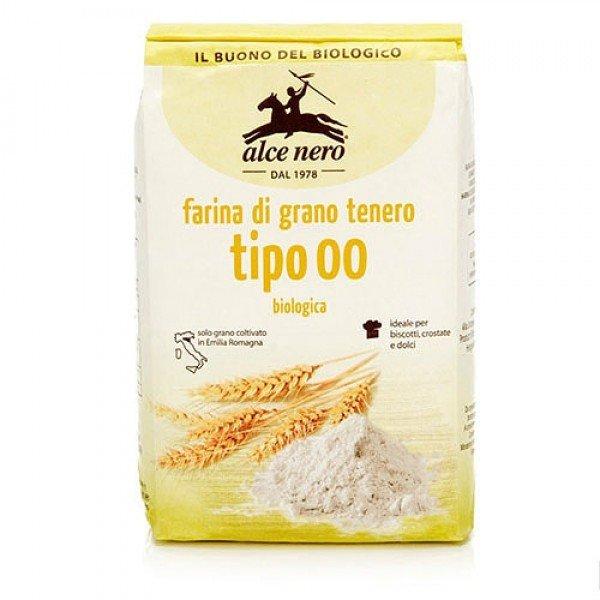 Alce Nero Alce Nero/ Мука пшеничная особо тонкого помола «00», 1000 г