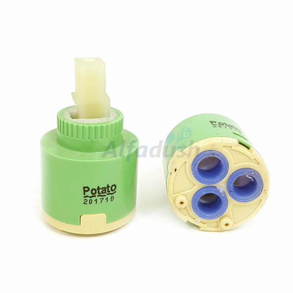 Картридж для смесителя 35 мм смешивание воды