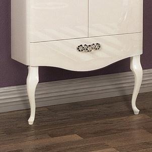 комплектующие Ножки для мебели Акватон Венеция фигурные белые