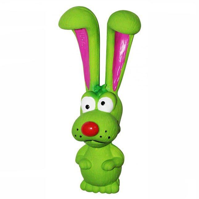 """Игрушка для собак """"Собака длинноухая, зеленая"""", Ziver"""