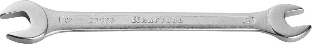 Ключ гаечный рожковый 10х12 мм Kraftool EXPERT 27033-10-12