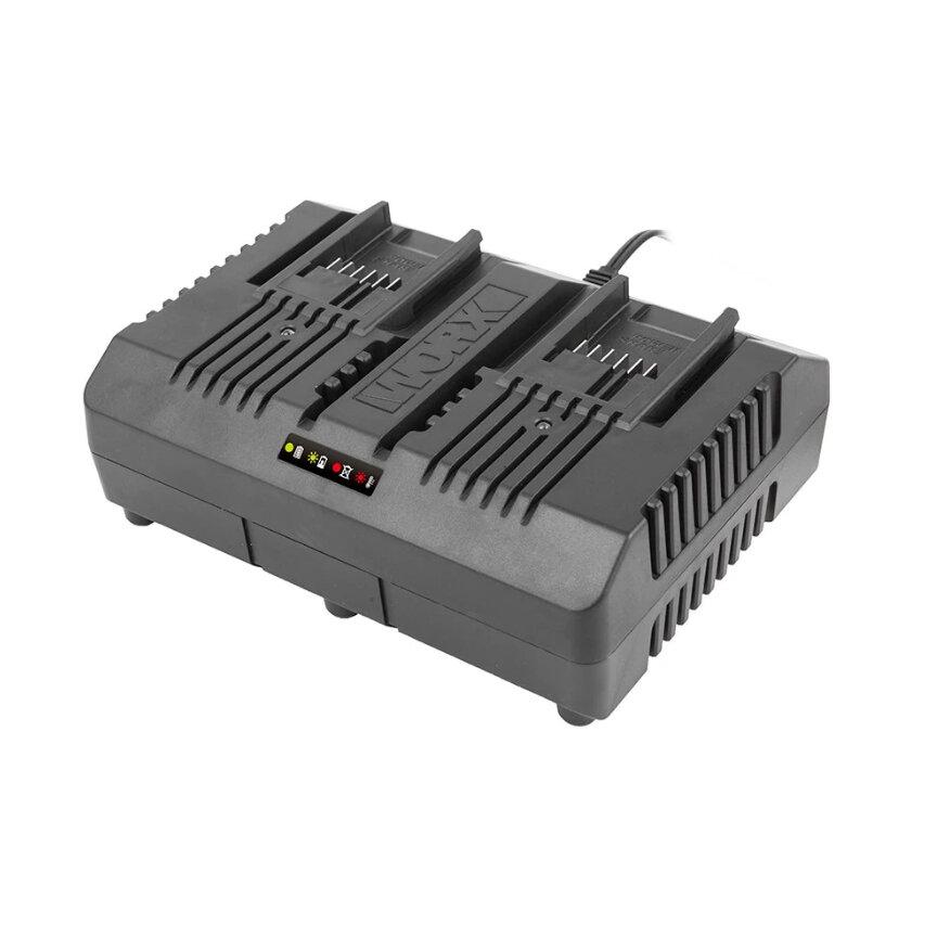 Двойное зарядное устройство WORX WA3883 20V 2x2А