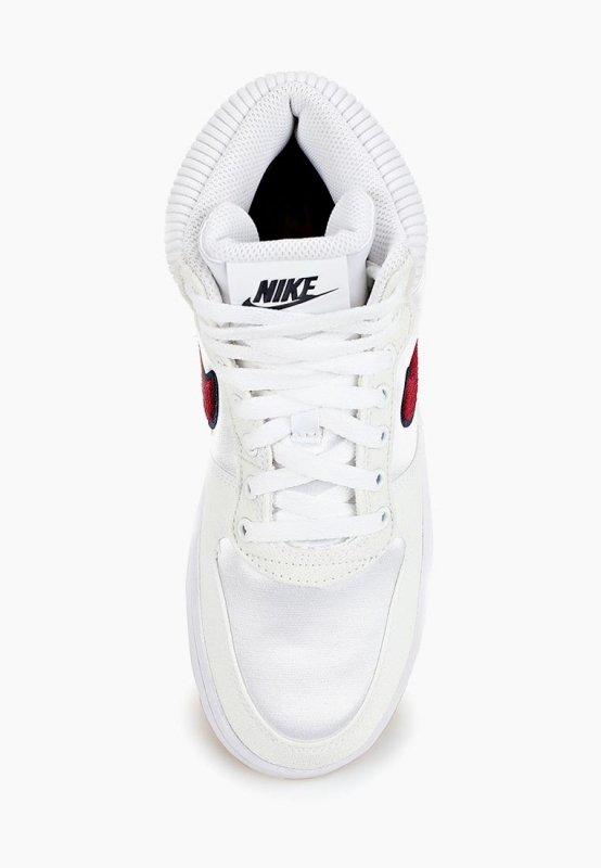 Кеды NIKE AQ1769-100 Ebernon Mid Premium женские, цвет белый, размер 35  фото ... 560eea55946