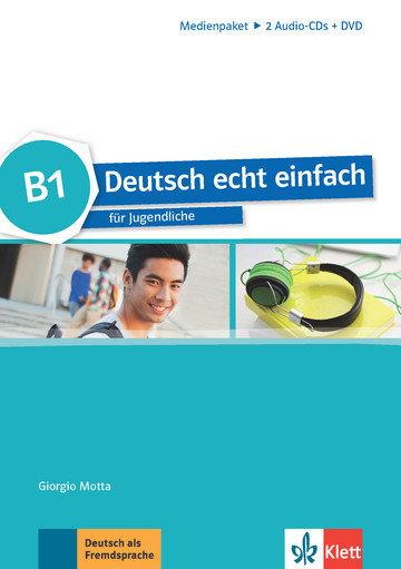 """Specht Franz """"Deutsch echt einfach. B1. Medienpaket: Audio-CDs (2) + DVD"""""""