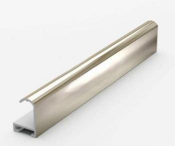 Анодированный алюминиевый профиль.3.05 м. Золото Глянец №2 Nielsen 02001