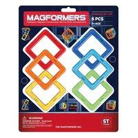 Магнитный конструктор MAGFORMERS 701001 (63086) Квадраты 6 - 701001 (63086)