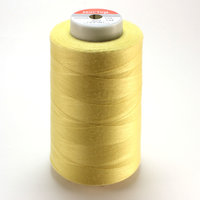 Нитки швейные Мастер желтые 134 40/2 5000 ярд