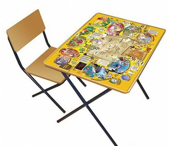 """Комплект детской мебели """"Досуг № 301. Мир вокруг"""""""