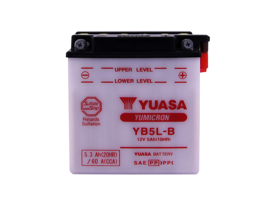 Аккумулятор YUASA YB5L-B (Артикул: 73643)