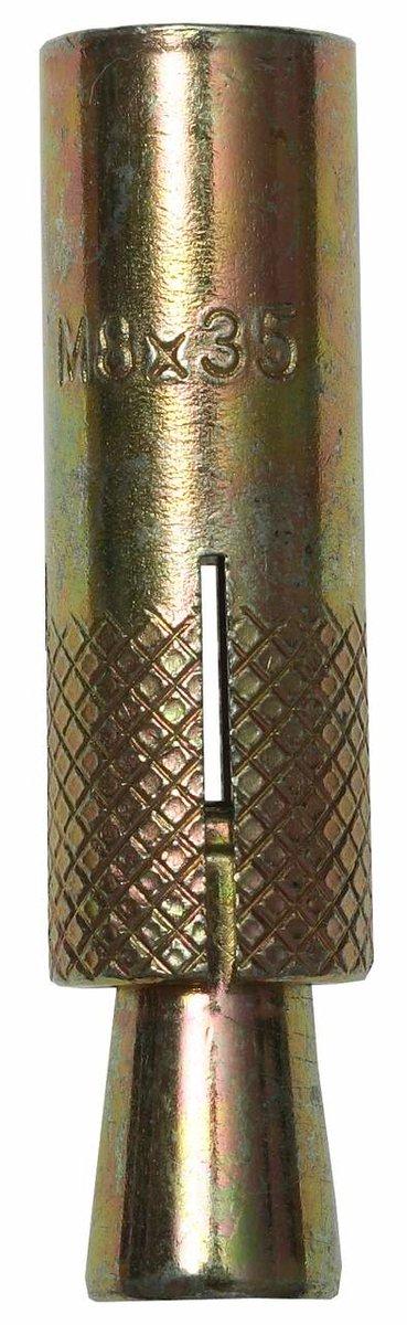 Анкер с клином 8x30 мм M6 4 шт Зубр 4-302076-06-030
