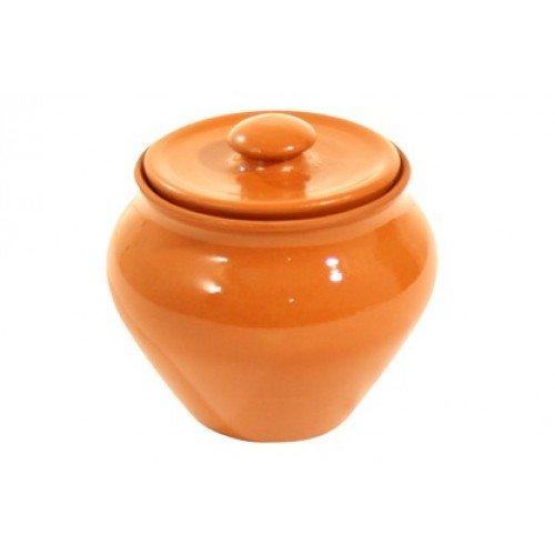Горшок пищевой терракотовый - Вятская керамика 700 мл