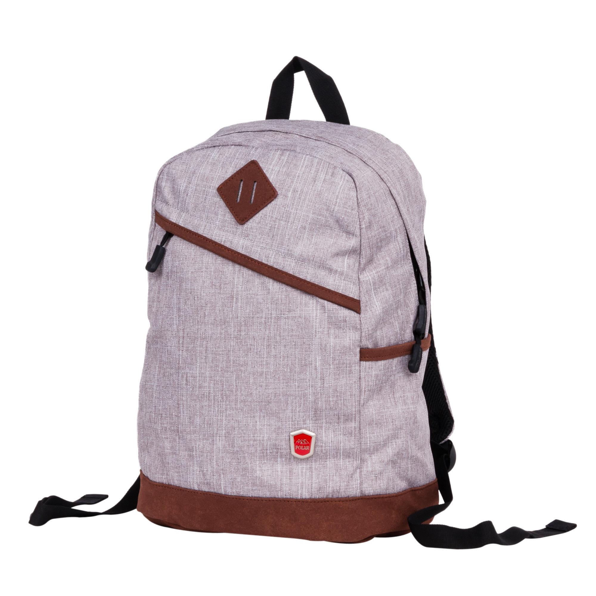 Рюкзак Polar 16012 18.5 серый