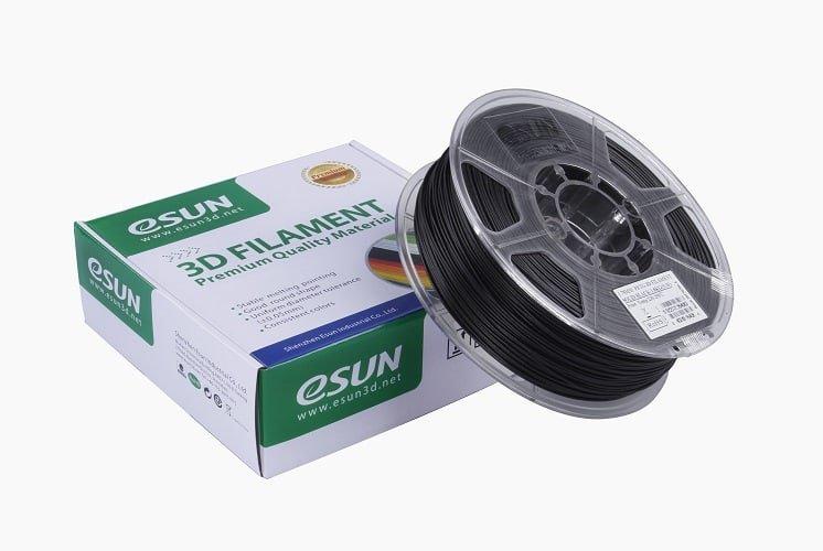 ESUN PETG пластик ESUN, 1.75 мм, черный, 1 кг