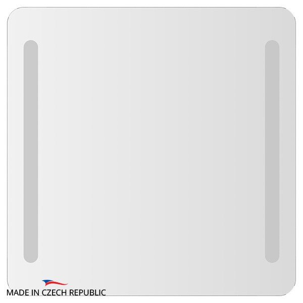 Зеркало со встроенными светильниками ELLUX LINEA LED (70х70 см) LIN-B2 9304