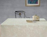 Скатерть круглая водоотталкивающая Aitana Klimt, d180см, льняная
