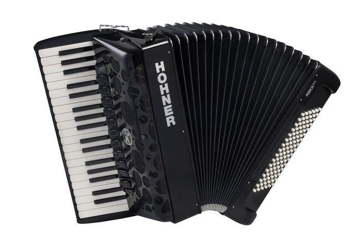 HOHNER Amica Forte IV 96 black (A38221) концертный аккордеон