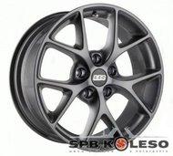 Колесный диск BBS SR019 8 \R18 5x120 ET32.0 D82.0 Vulcano Grey Diamond - фото 1