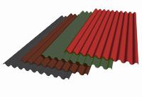 Ондалюкс Волнистый лист коричневый