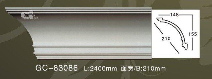 Лепнина Artflex GC-83086 Карниз гладкий