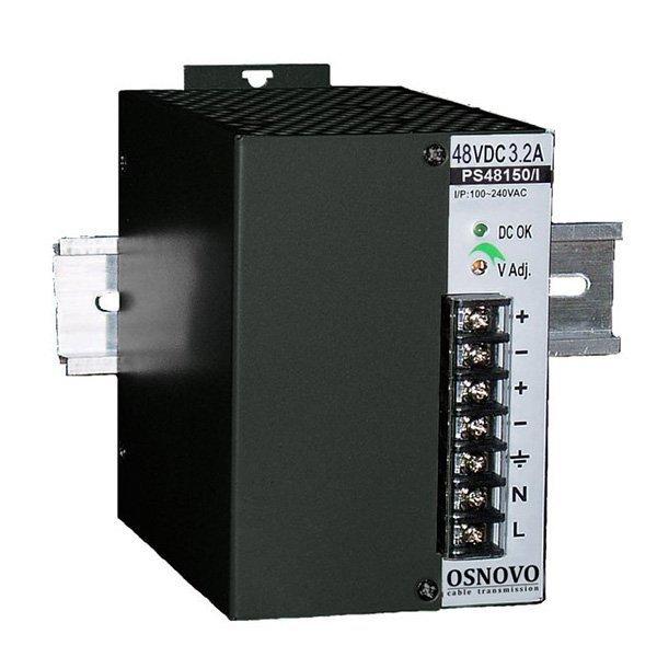 PS-48150/I Промышленный блок питания. 1 выход: DC48V, 3.2A (150W).