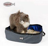 Портативный лоток DogLemi для кошек. Серый, шт