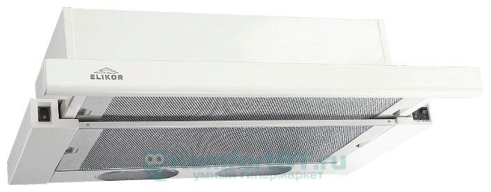 Встраиваемая вытяжка ELIKOR Выдвижной блок 60 двухмоторный белый 60П-600-К3Л