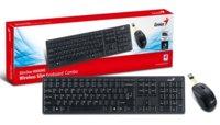 Комплект Genius беспроводной клавиатура + мышь Slimstar 8000ME, USB, Black, RU,2.4GHz