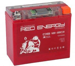 Аккумулятор для мототехники Red Energy DS 12-201 285А обратная полярность 20 Ач (177x88x154)