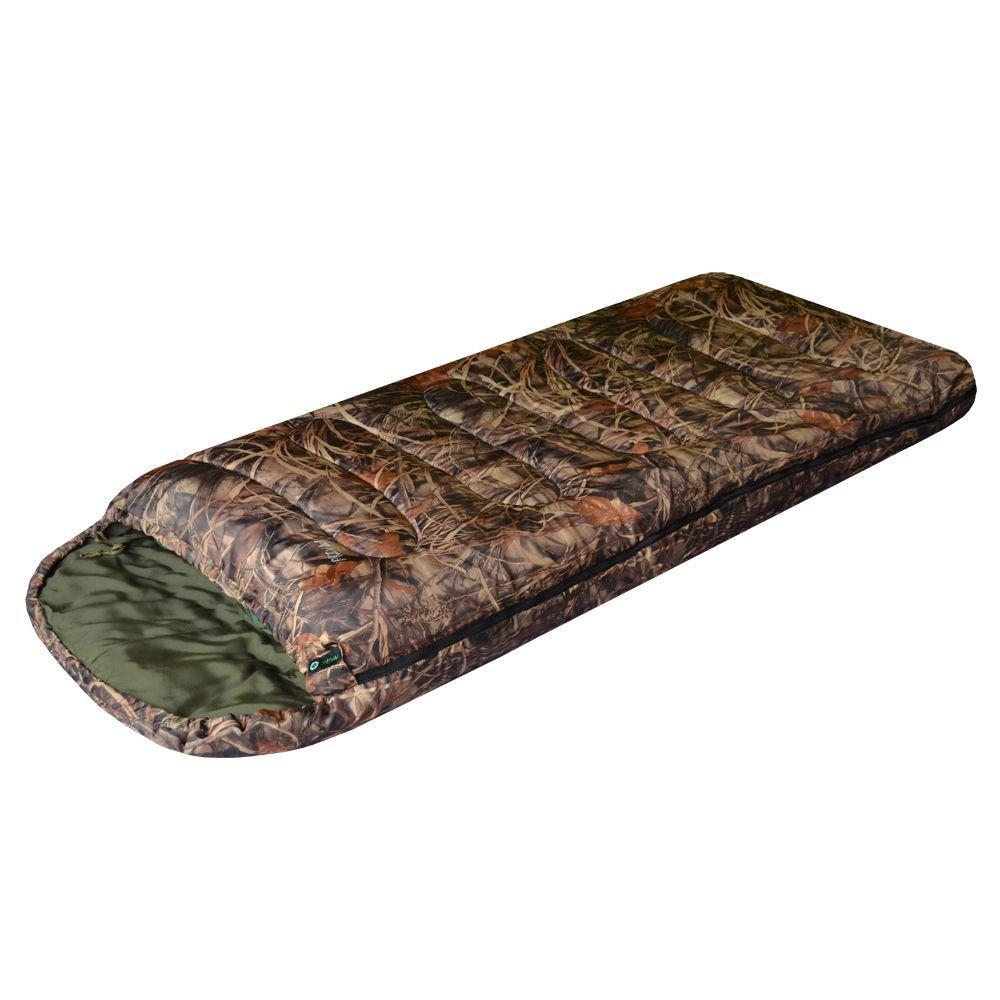 Спальный мешок камуфляж Степной XL 220х95 Prival