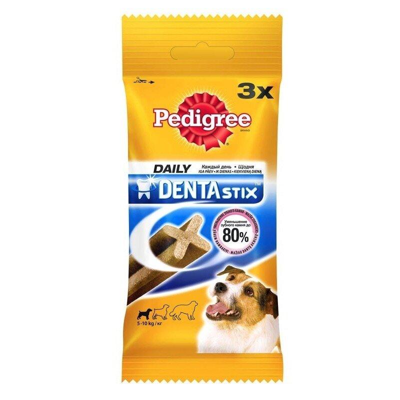 Pedigree Denta Stix лакомство для взрослых собак мелких пород в форме мясных палочек - 45 г