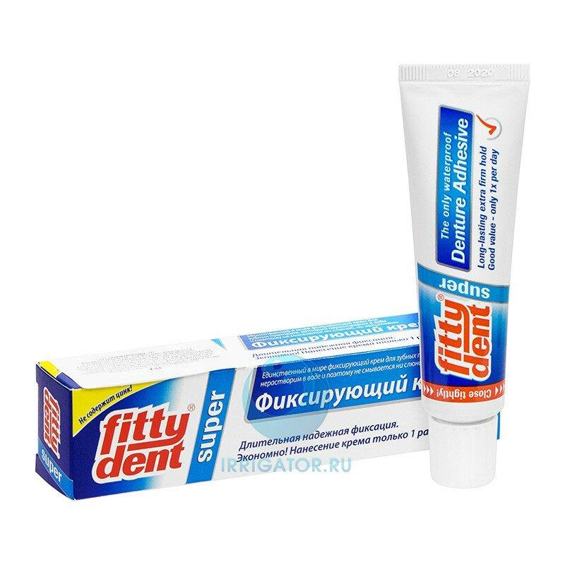 Клей Fittydent для фиксации съемных зубных протезов, 40 г
