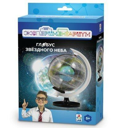 Набор для исследований 1 TOY Экспериментариум Глобус звёздного неба набор