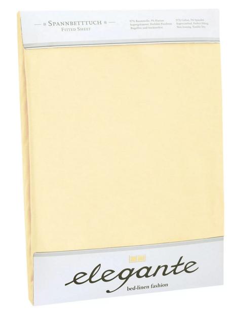 Простыни Простынь мако сатин Elegante Uni 6800/34 размер простынь 240х260 см