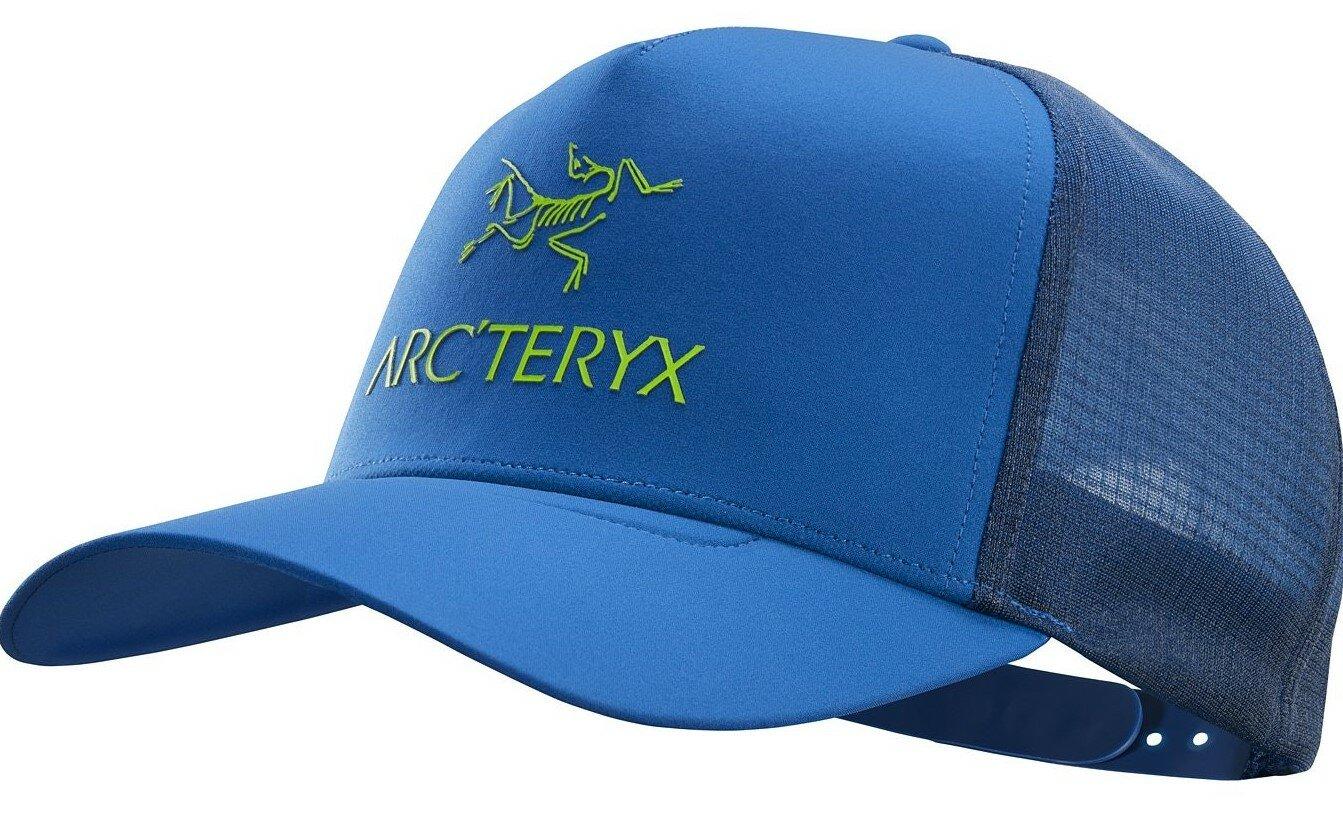 Кепка Arcteryx Logo Trucker Cobalt Sun
